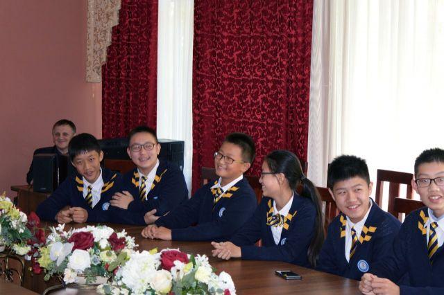 Ставрополь посетила делегация школьников из китайского города-побратима Чженьцзяна
