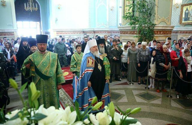 Ставропольские христиане отметили День Святой Троицы