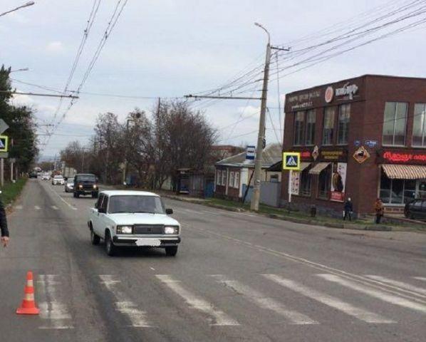 В Ставрополе на пешеходном переходе сбили 7-летнюю девочку