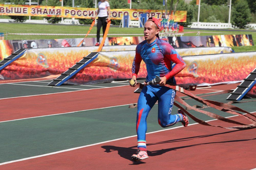 Сборная Подмосковья завоевала медали наЧР попожарно-прикладному спорту