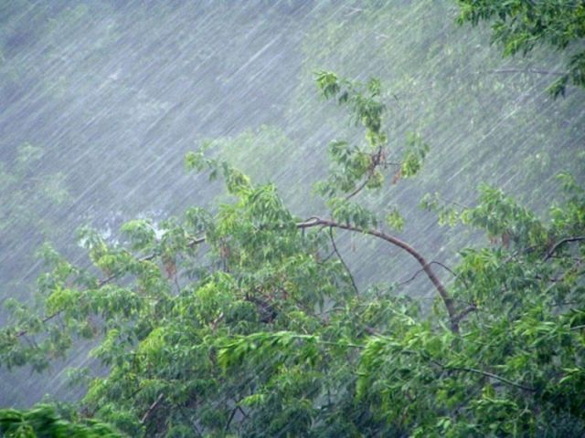На Ставрополье 30 августа прогнозируются сильные дожди в сочетании с грозой, градом