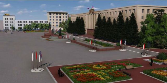 Главная площадь Ставрополя будет выглядеть по-новому
