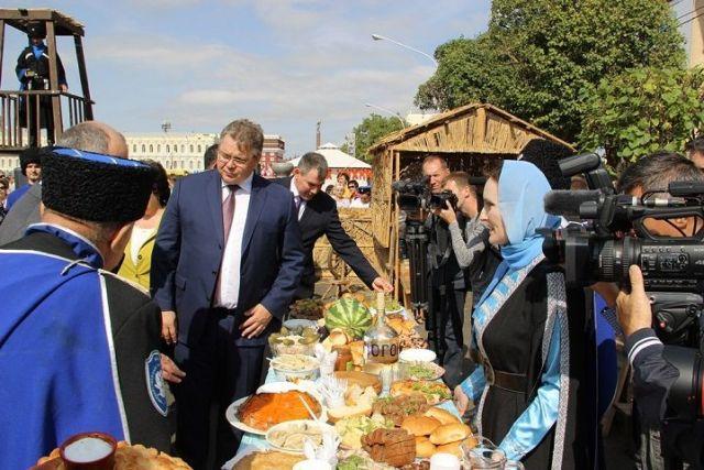 Украшением «Российской студенческой весны» на Ставрополье станут национальные подворья