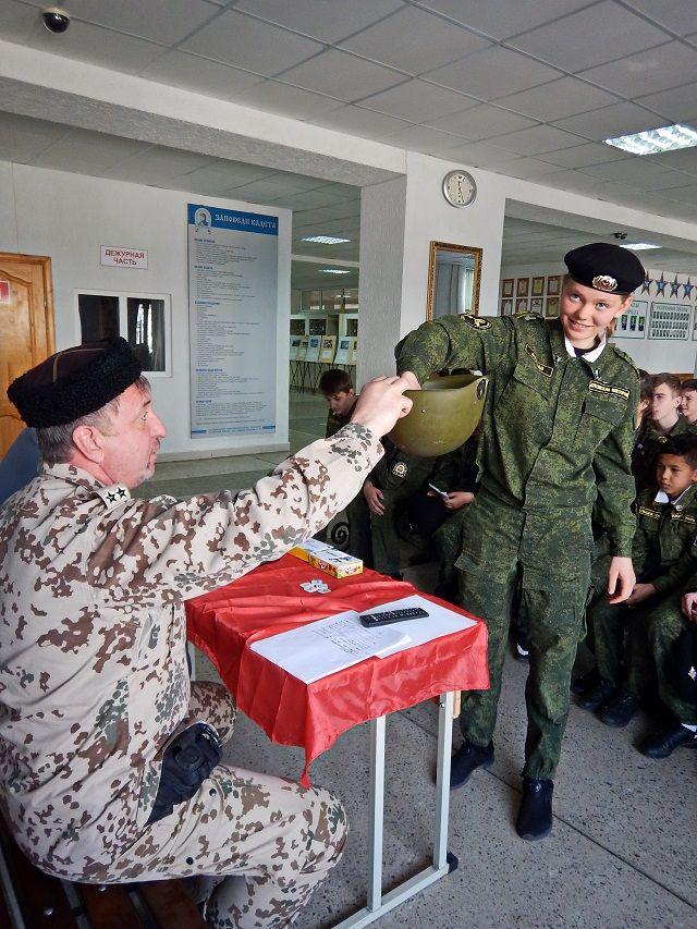 Ставропольские кадеты-ермоловцы показали знания спортивного этикета