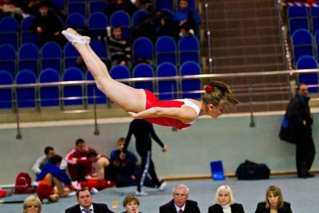 Ставропольская акробатка вновь доказала, что она лучшая в мире
