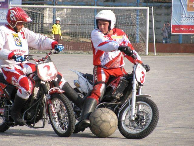 Ставропольцы стали победителями 32-го чемпионата Европы по мотоболу