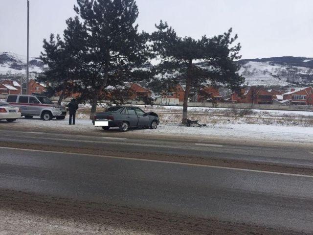 Лишённая водительских прав ставропольчанка попала в аварию