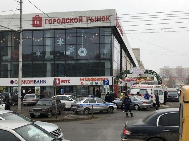 В Ставрополе эвакуируют людей из торговых центров, больницы и Тухачевского рынка
