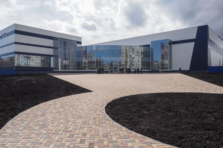 В Ставрополе завершается строительство большого ледового дворца