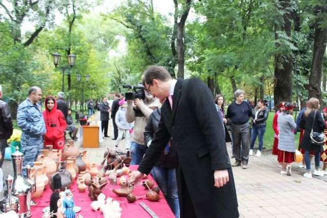 «Мираж» зажёг жителей Георгиевска в его 239-й День рождения