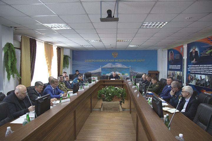 В Иноземцево прошло заседание комиссии по предупреждению и ликвидации чрезвычайных ситуаций