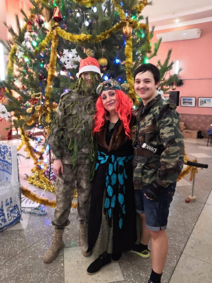 Ессентукские казаки провели для детей праздничный новогодний утренник