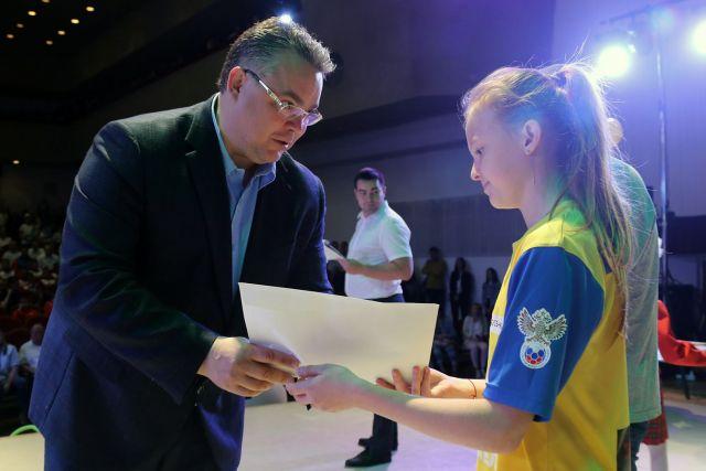 Юные ставропольские спортсмены получили бесплатные билеты на Чемпионат Мира по футболу