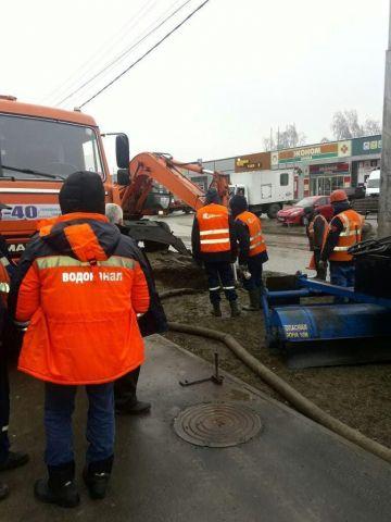 В Ставрополе 20 домов остались без воды из-за порыва