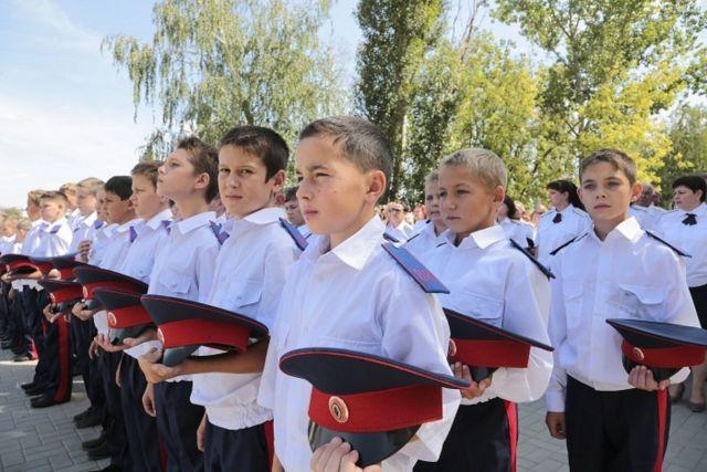На Ставрополье появится первый казачий кадетский корпус