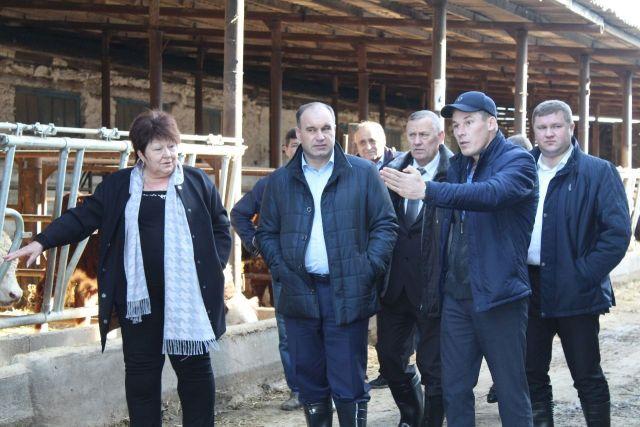 Глава Минсельхоза Ставропольского края посетил Красногвардейский район