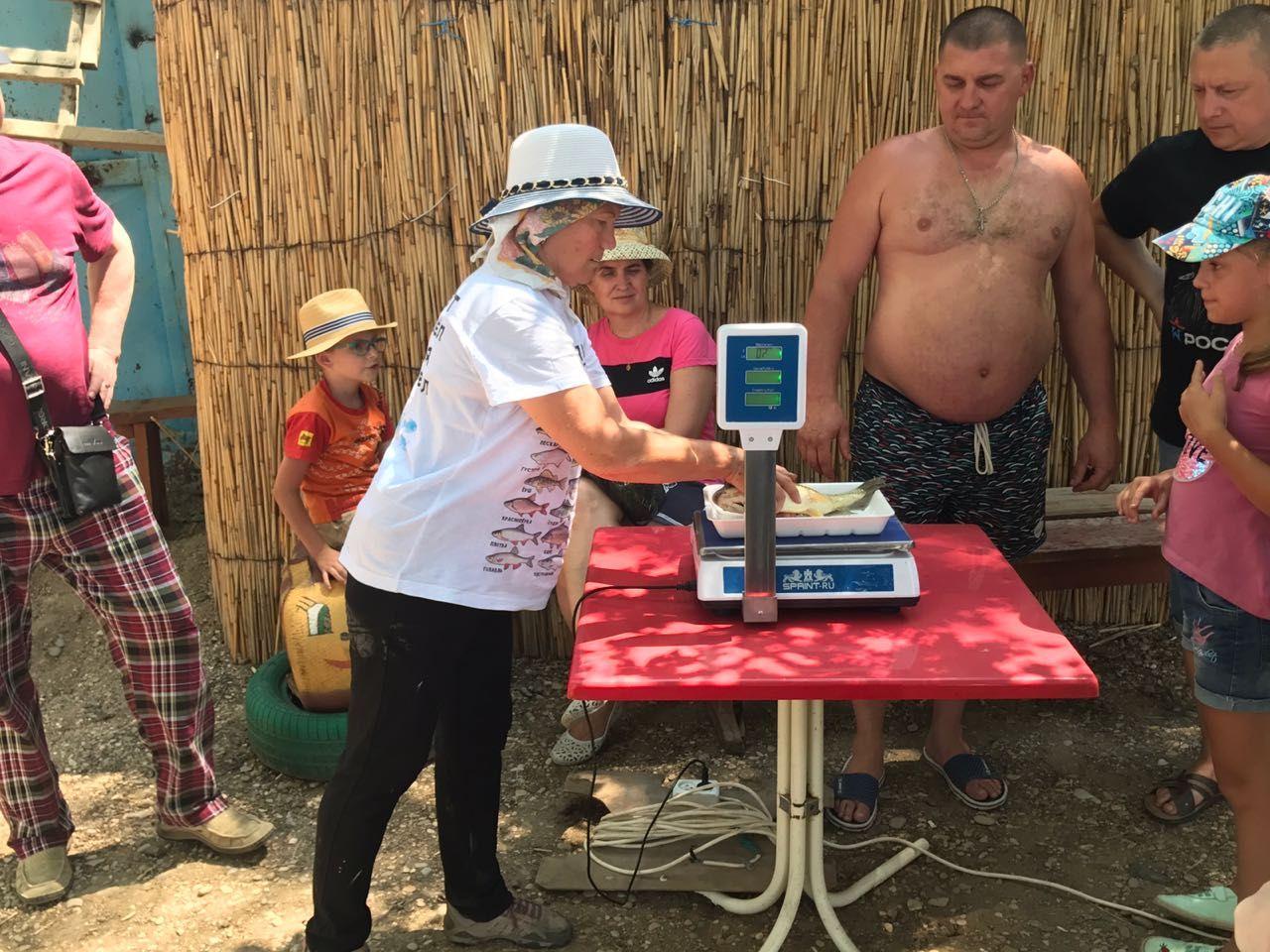 В День рыбака в Георгиевском городском округе выловили 28 килограммов рыбы