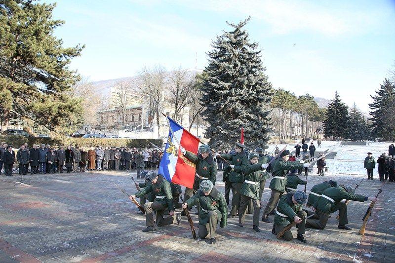 Пятигорск отметил 75-летие со дня освобождения от немецко-фашистских захватчиков