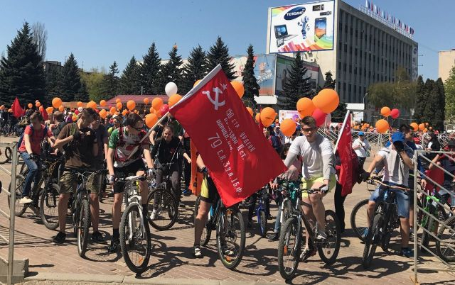 Веломарш Победы проедет по улицам Ставрополя 5 мая