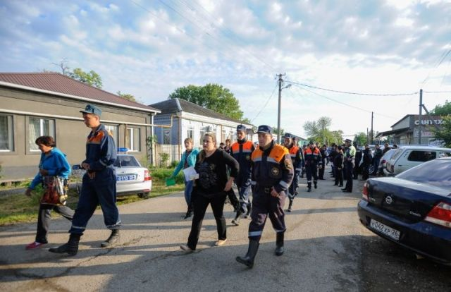 На Ставрополье началась эвакуация населения из возможных зон подтопления рядом с Отказненским водохранилищем