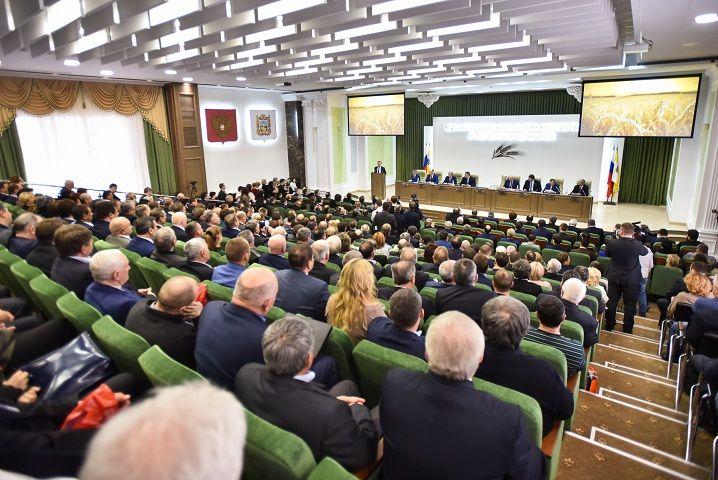 Вице-премьер РФ Аркадий Дворкович поучаствовал в конференции АПК Ставрополья