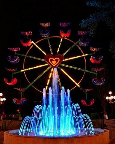 В Пятигорске в честь Дня города запустят три новых световых фонтана