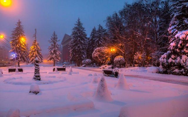 Питерский фотограф Федор Лашков опубликовал фотографии зимнего Ставрополья