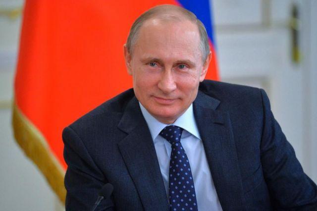 Владимир Путин поздравил ставропольцев с Днём города