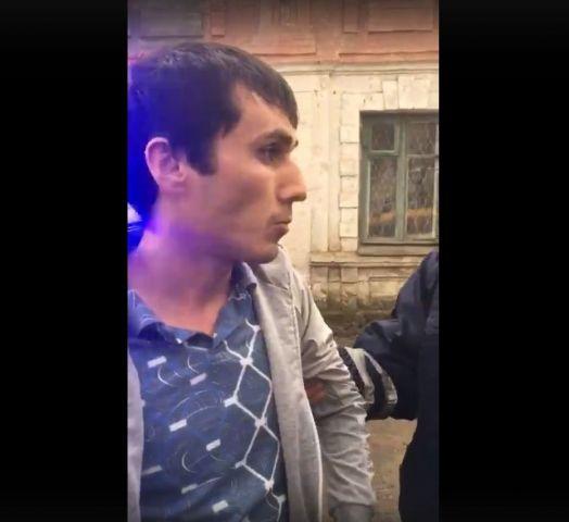 В сети появилось видео задержания водителя маршрутки в Ставрополе