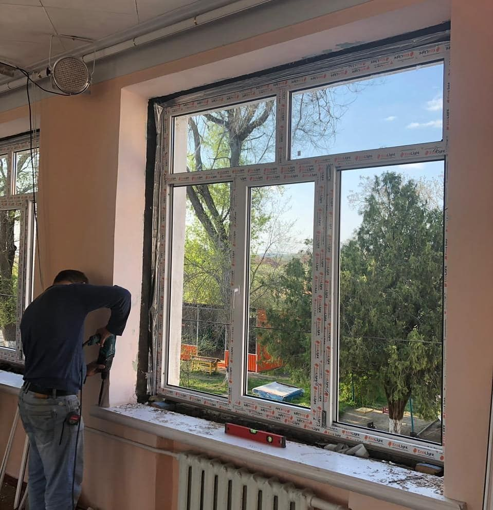 В детских садах Георгиевского горокруга обновляют окна