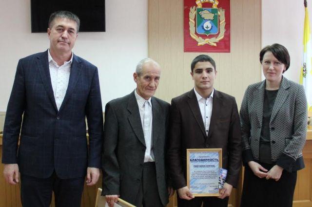 В Невинномысске чествовали серебряного призёра Молодёжного чемпионата мира по боксу