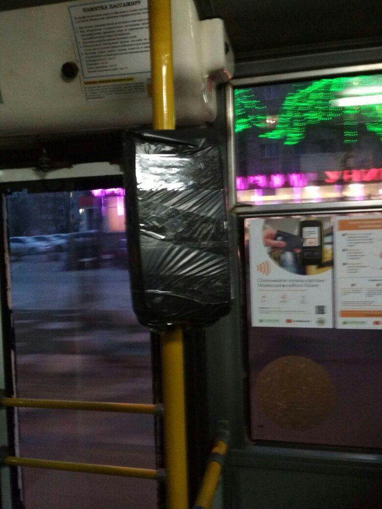В троллейбусах Ставрополя появляются валидаторы