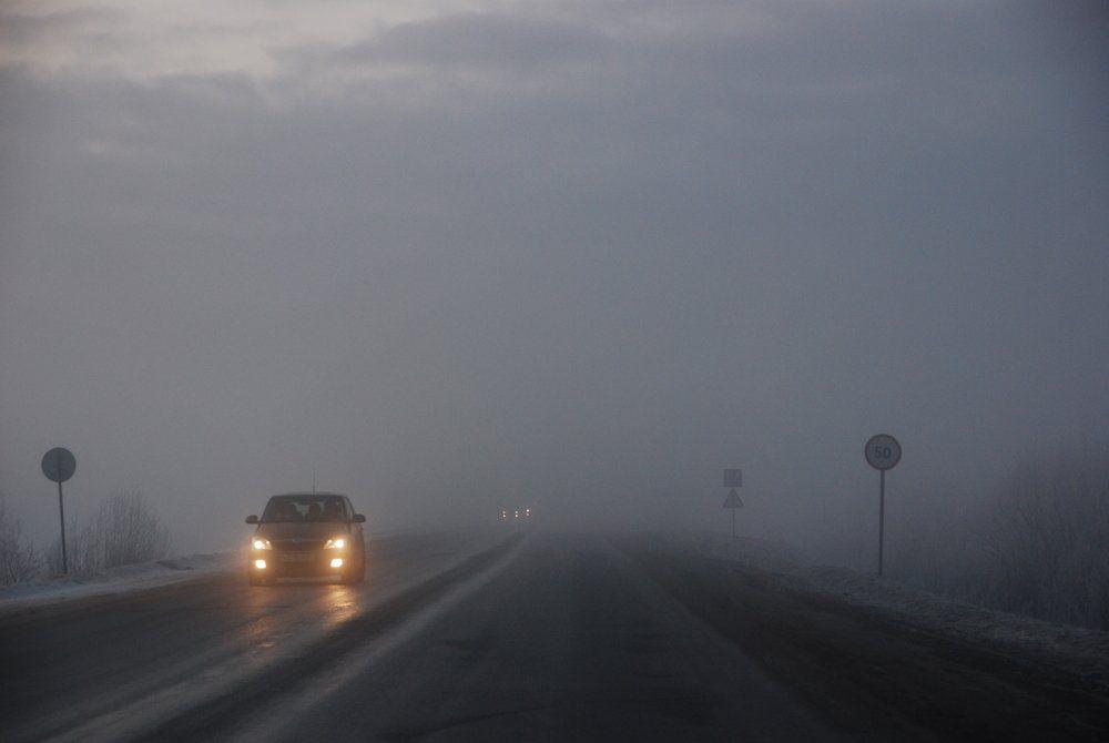 В Ставропольском крае 13 февраля прогнозируются туман, гололёд