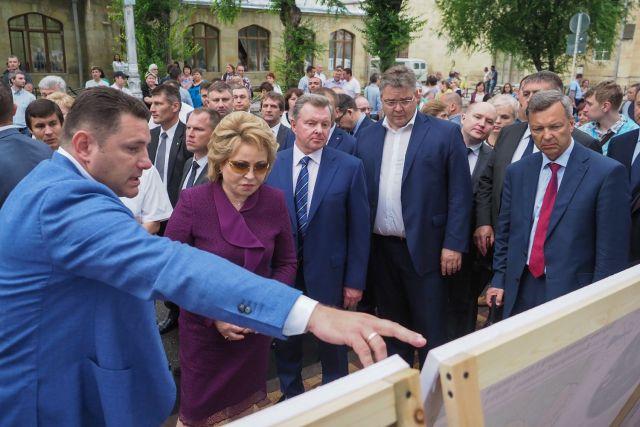 Спикер Совфеда Валентина Матвиенко подвела итоги рабочего визита в Кисловодск