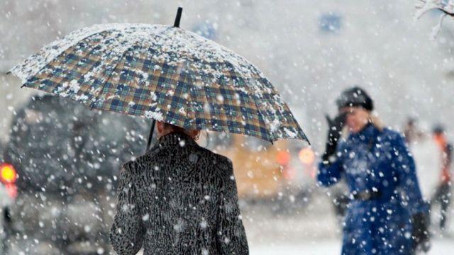 В Ставрополе синоптики прогнозируют снег с дождём