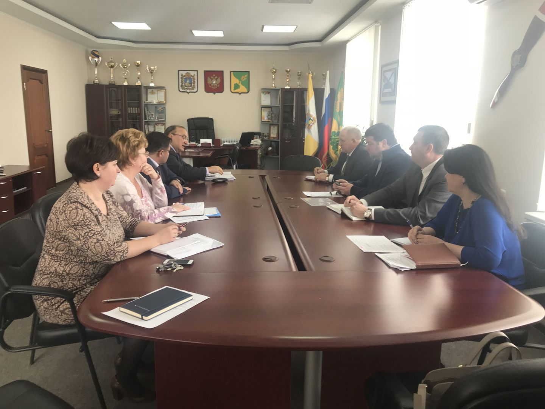 Председатель Думы Ставропольского края Геннадий Ягубов посетил Будённовский район