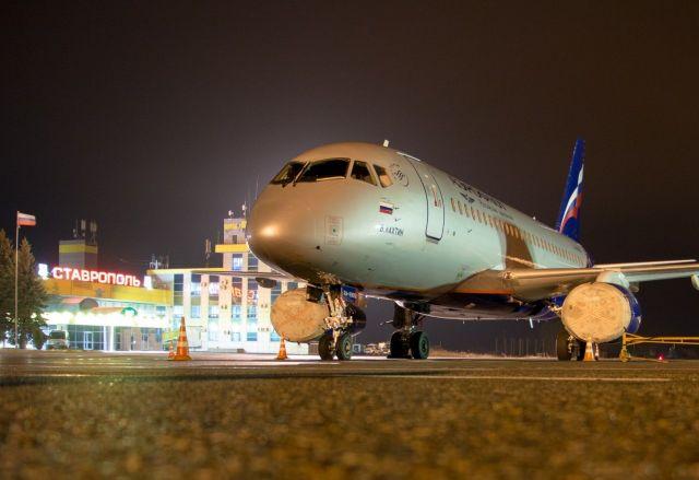 Несколько рейсов из Москвы в Ставрополь и Минводы и обратно отменены из-за непогоды в столице