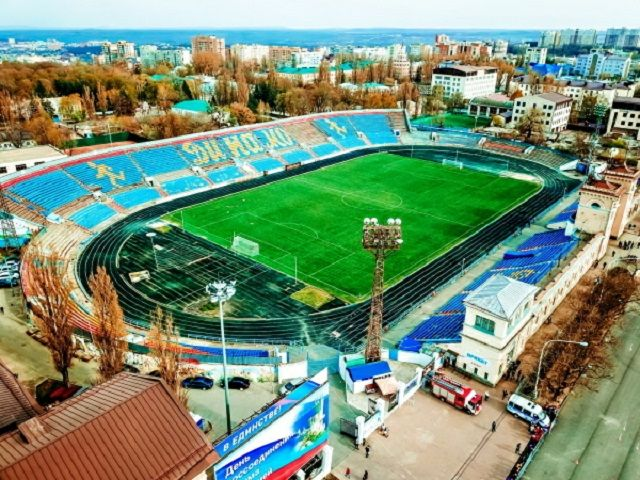 В Ставрополе идёт ремонт на стадионе «Динамо»