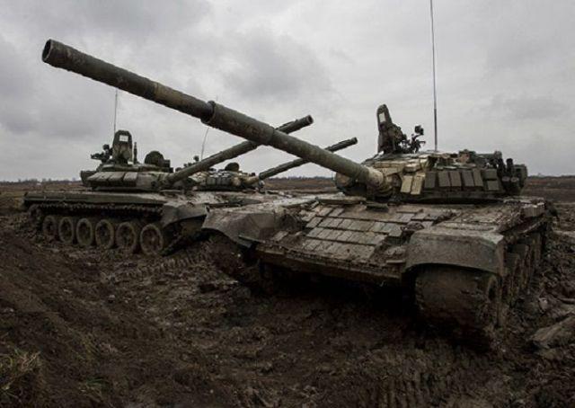 Танковые дуэли начались в Ставропольском крае