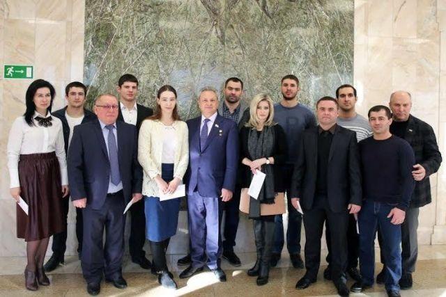 В Ставрополе прошла встреча с участием легендарных спортсменов
