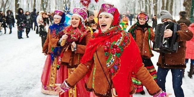 Жители Ставрополя боролись за гуся в Рождество
