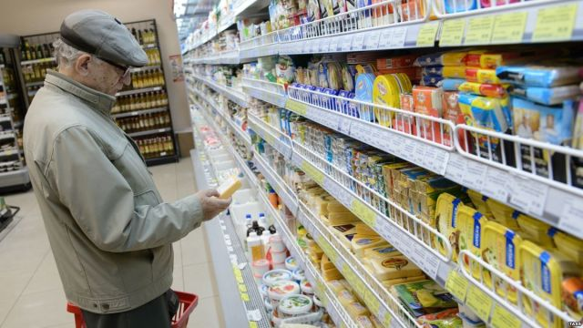 Жителей России предупредили о дефиците продуктов