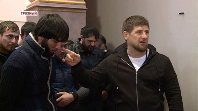 Кадыров отчитал задержанных в Пятигорске наркоманов из Чечни