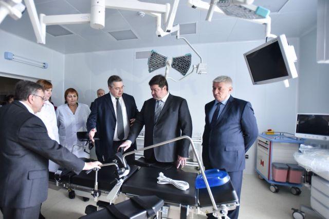 В Ставрополе открыли новую поликлинику