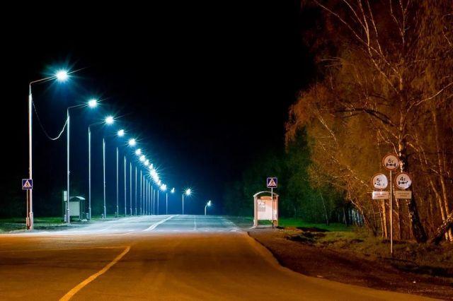 В 2017 году на восьми участках дорог Ставрополья установят современное освещение