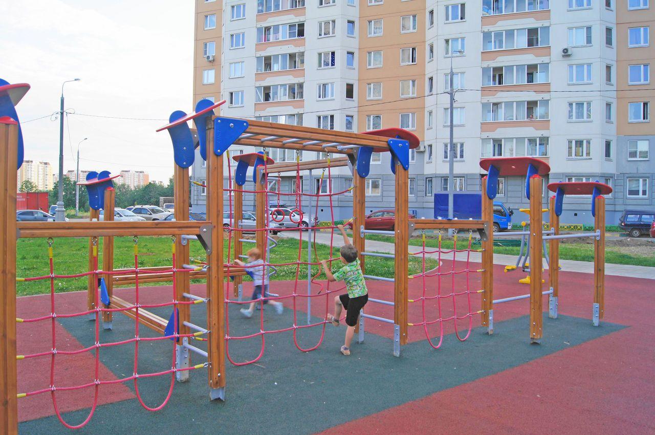 Осенью 2017 года в Кисловодске появится 8 новых спортплощадок