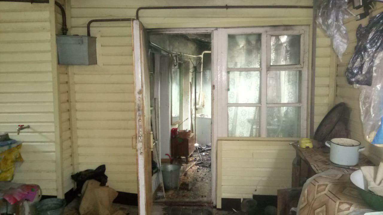 В Кисловодске 12 января загорелся частный дом