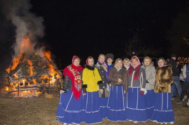 В Крещенскую ночь в Ессентуках зажгут большой костёр