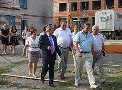 Владимир Трухачев посетил с рабочим визитом Грачёвский район