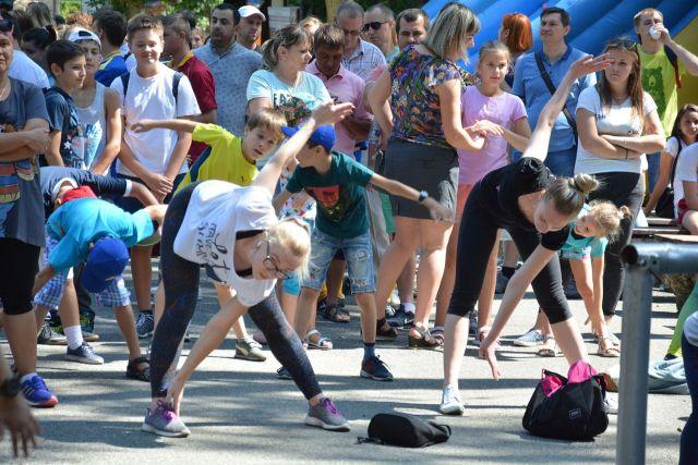 В Ставрополе необычайно ярко и весело отметили День физкультурника